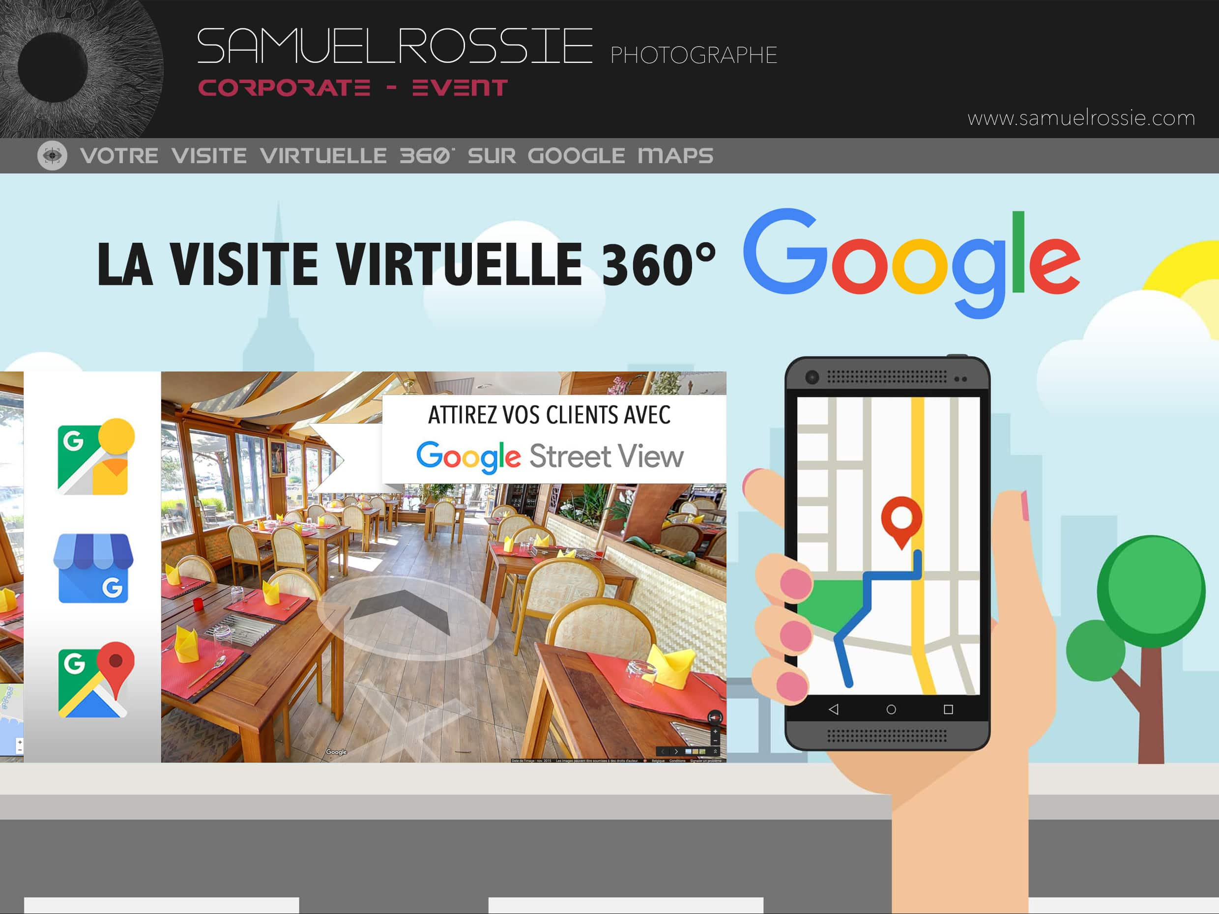 Visite virtuelle 360° Google Maps Street View Tournai