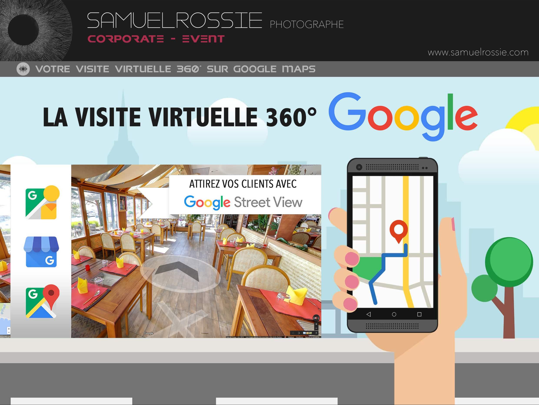 Visite virtuelle 360° Google Maps Street View Tournai