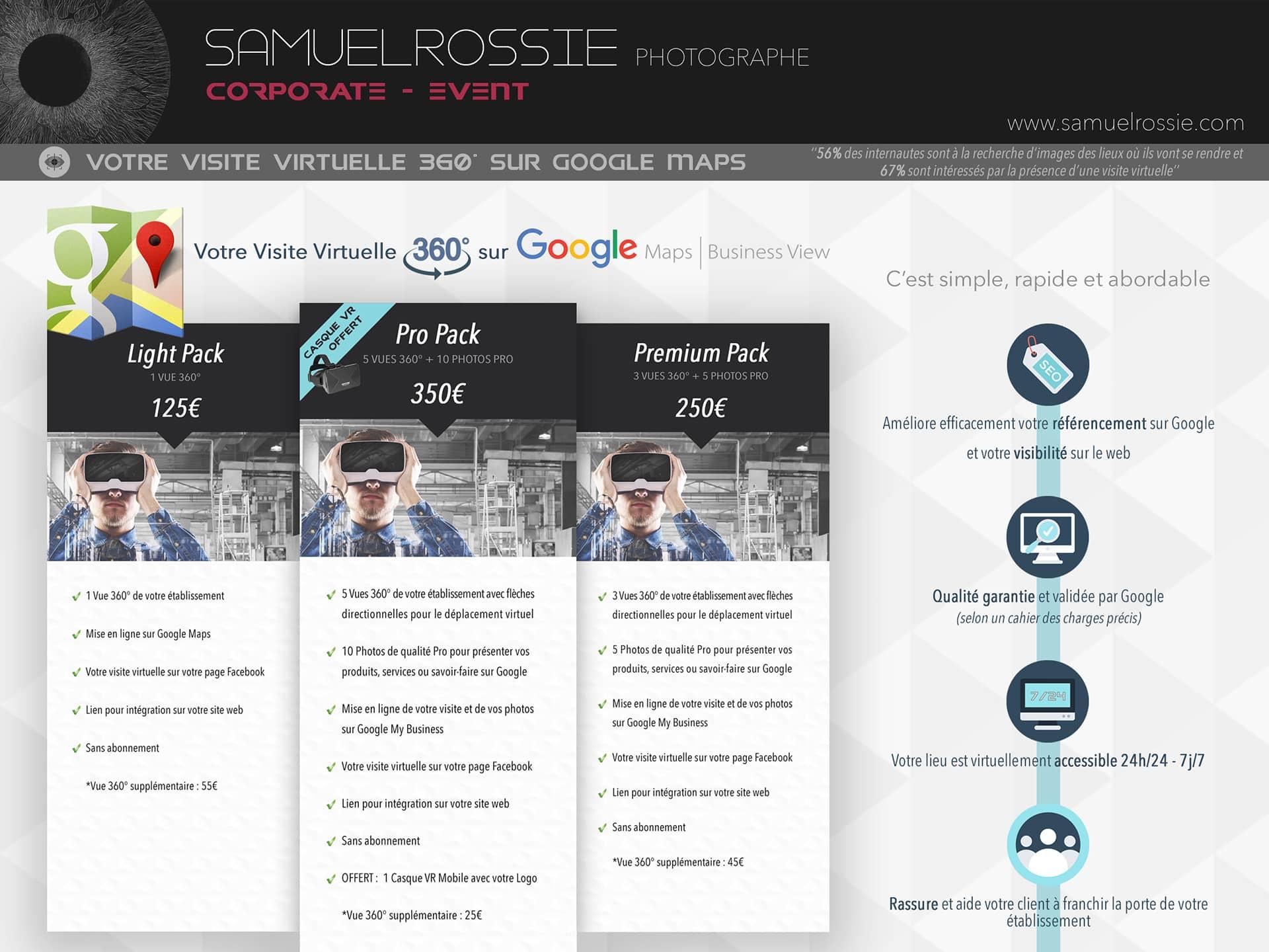 Création de Visite virtuelle à Tournai
